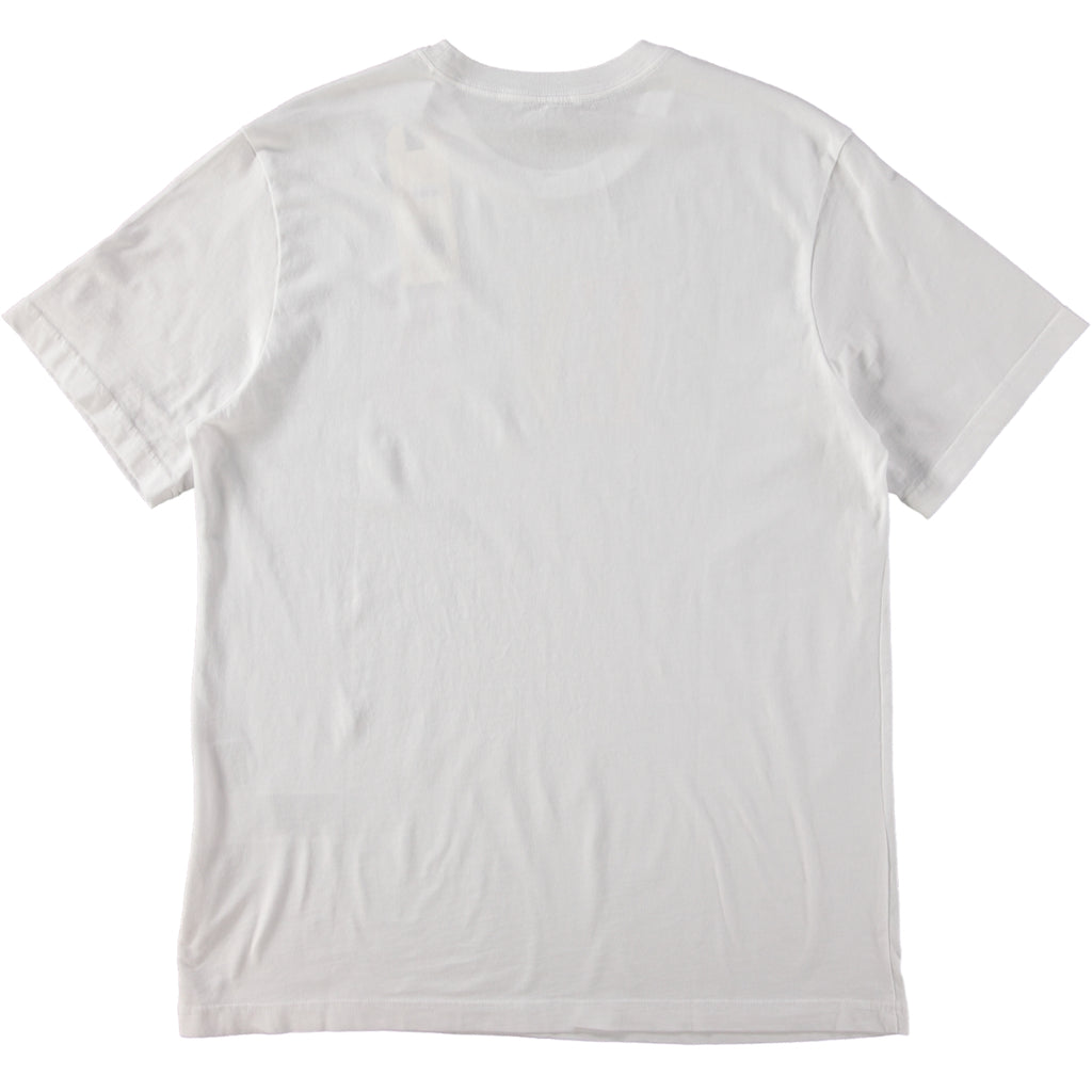 Levi's Red Tab SS Relaxed Fit Serif Logo Graphic T-Shirt White