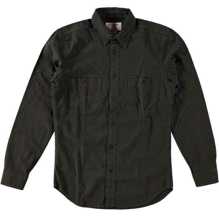 Filson Wildwood Shirt Forest Brown