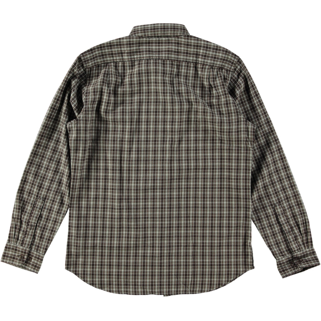 Filson Wildwood Shirt Beige Rust Black