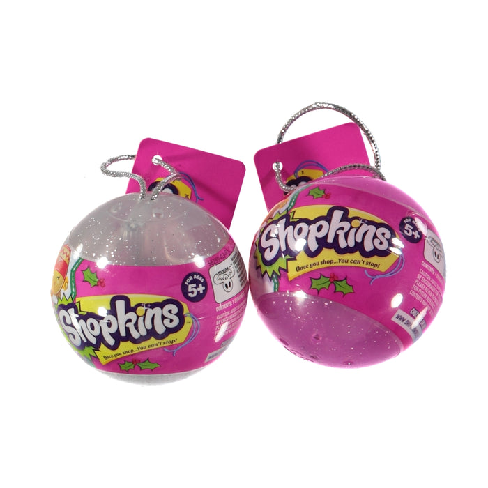 Shopkins Blind Box Christmas 2016 Exclusive Bauble Ornament