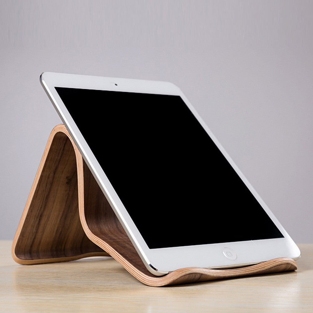Universal Wooden Tablet PC Phone Stand Holder Bracket for Apple iPad Mini Air 2 3 4 iPhone 6 Samsung 10.1 Galaxy S5 S4 Lenovo LG Google Nexus PAD