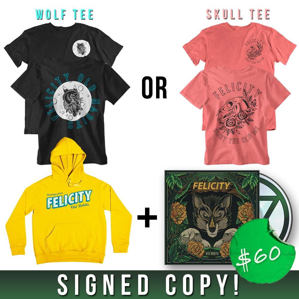 Hoodie + Shirt + CD (Signed)