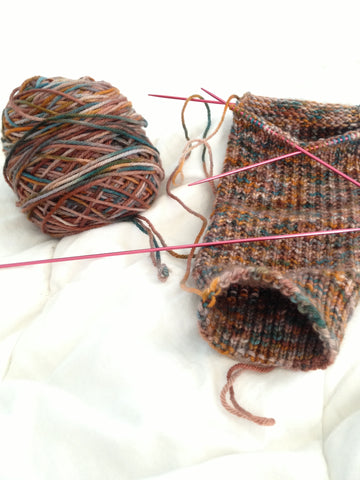 Skein Top Draw Sock