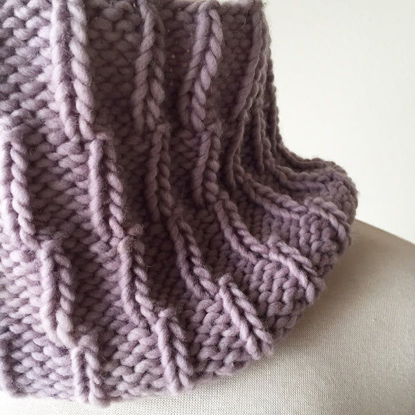 The Northwoods Cowl by Kristine Vejar