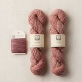 Label: Flock Fleur and Shimmering Tussah Red Pear