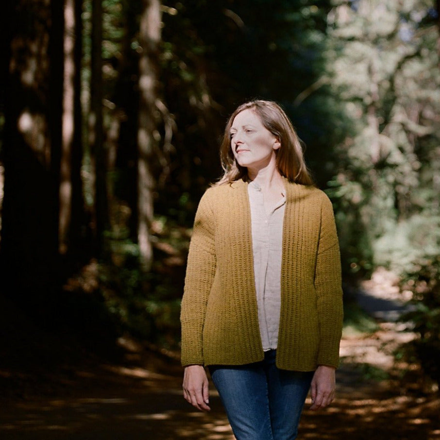 AVFKW x Elizabeth Doherty x Ebbetts Cardigan Kit - Undyed colors available
