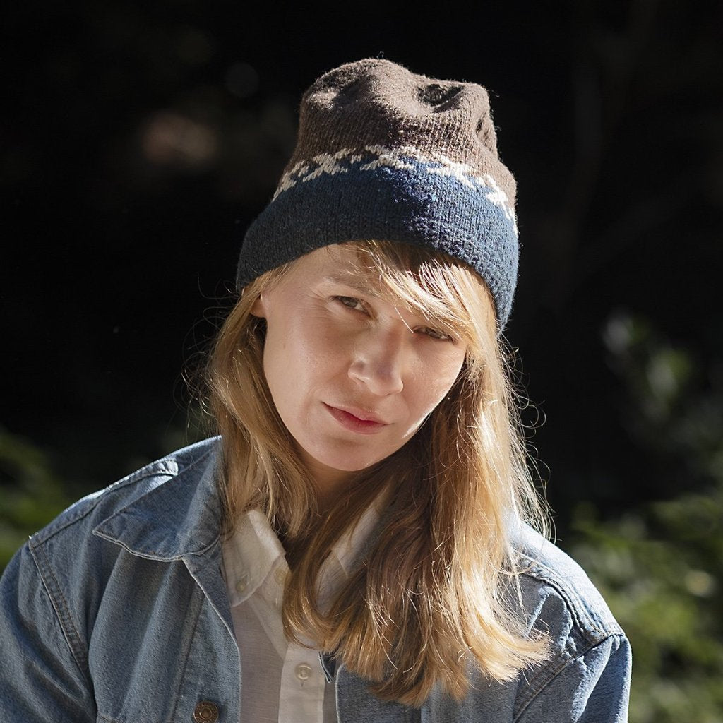AVFKW x Elizabeth Doherty - Stitched Together Hat & Mitts Kit - Coming Soon