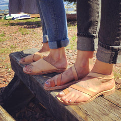 Leather Sandals with Candace LaCosse: Saturday, July 21st + Sunday, July 22nd