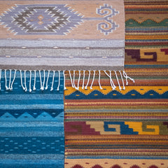 Naturally-dyed Rugs (2.5' x 5') by La Cúpula Rug Gallery + Demetrio Bautista Lazo - New!