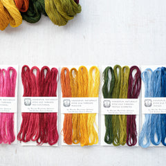 Handspun, Naturally-Dyed Silk Thread by Moisés Martínez Velasco y Gladys Garcia Flores - New!