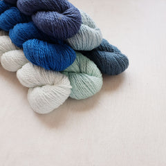 Blue Sky Fiber's Organic Cotton Worsted - NEW!