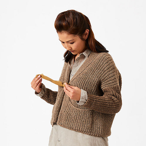 AVFKW x Cocoknits - Sarah Sweater Kit - Undyed colors available