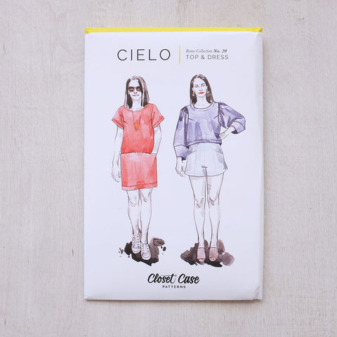 Cielo Top + Dress Pattern from Closet Case Patterns