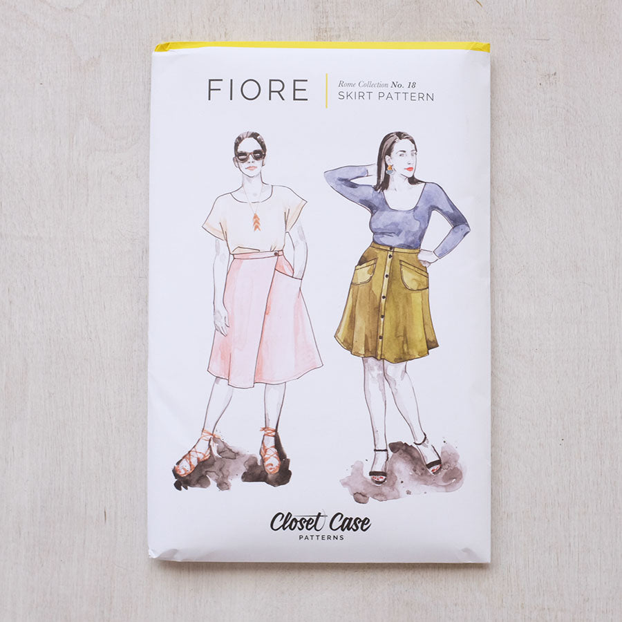 Closet Case Patterns - Fiore Skirt - PRINTED