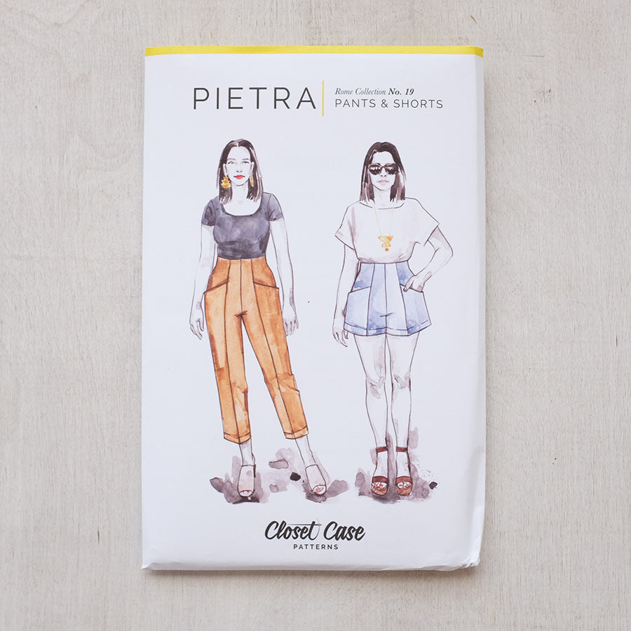 Pietra Pants + Shorts from Closet Case Patterns - NEW!