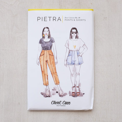 Closet Case Patterns - Pietra Pants + Shorts - PRINTED - SOLD OUT