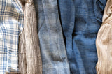 Naturally Dyed Khadi - 100% organic cotton