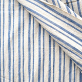 Label: Thick and Thin Bold Stripe - Indigo and White