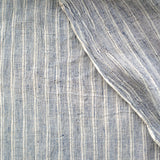 Label: Thick and Thin Airy Stripe - Indigo and White