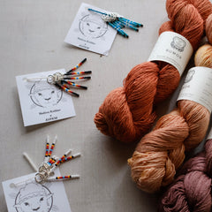 Virtual Stitches West: Native Knitter x AVFKW - Stitch Markers