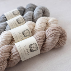 AVFKW - Gather - Undyed colors available!