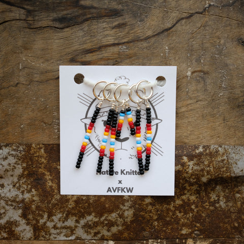 Stitch Markers - Native Knitter x AVFKW