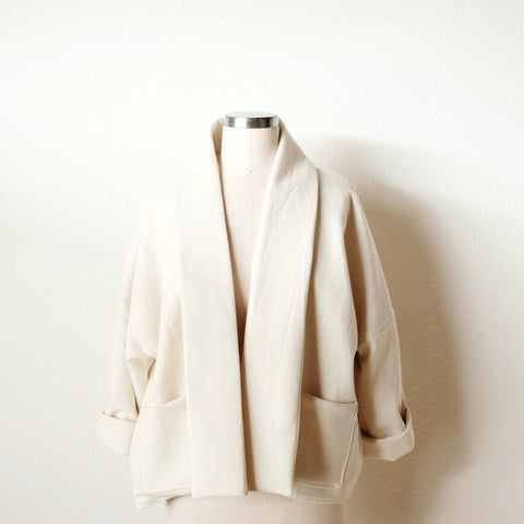 California Wool Wiksten Haori Jacket Kit