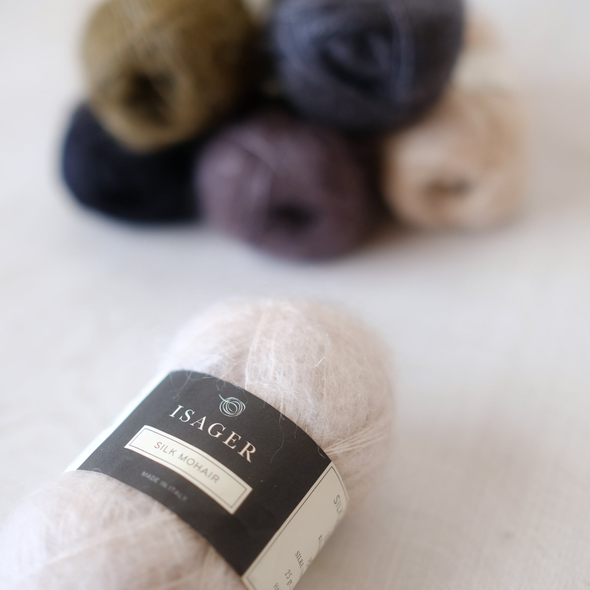 Silk Mohair by Isager - New Colors!