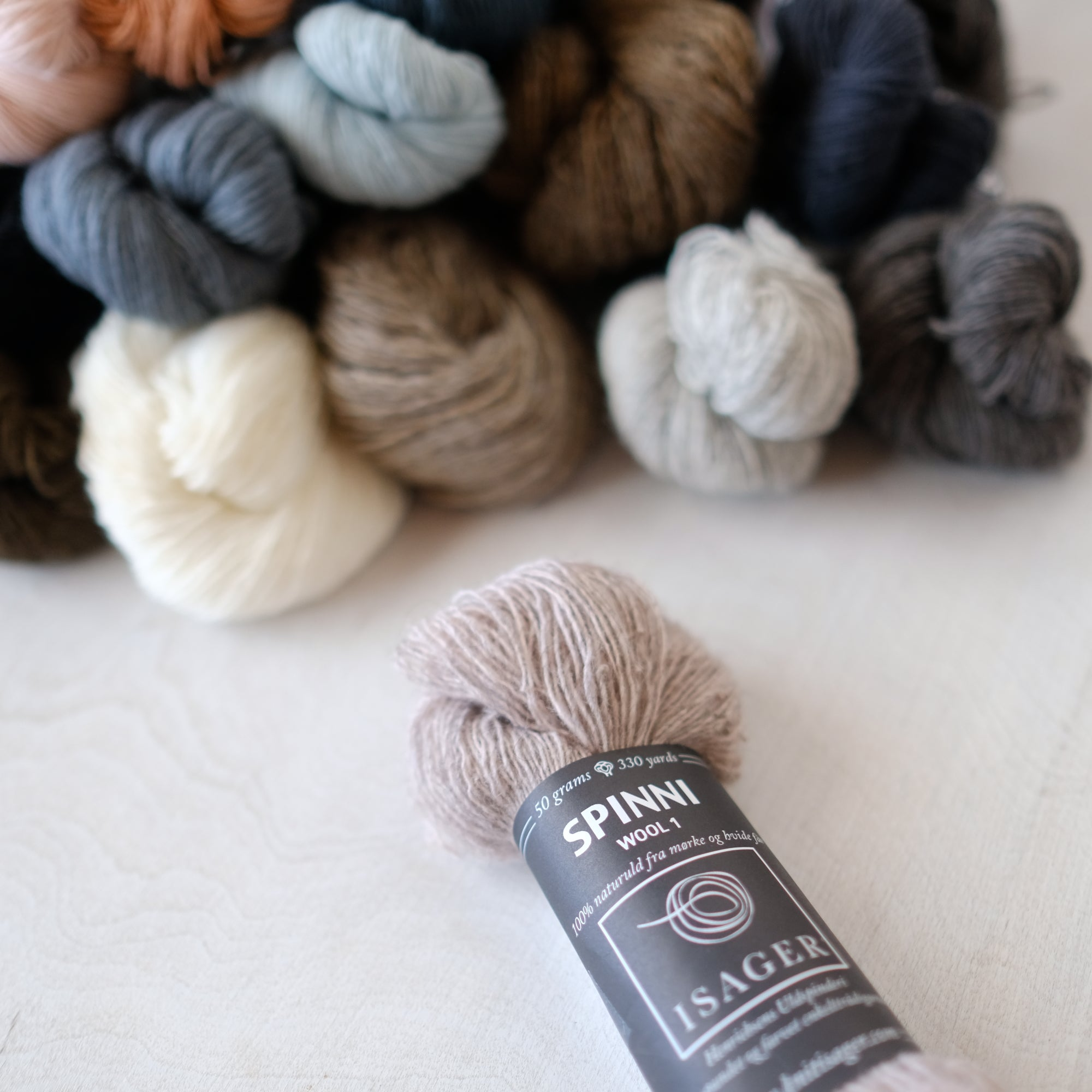 Spinni Wool 1 by Isager