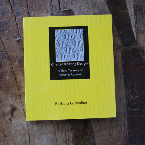 A Third Treasury of Knitting Patterns by Barbara G. Walker - Just Added!