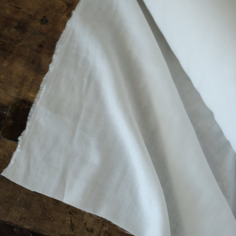 Double Gauze - 100% organic cotton - white