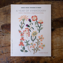 A Year of Embroidery by Yumiko Higuchi - Just restocked!