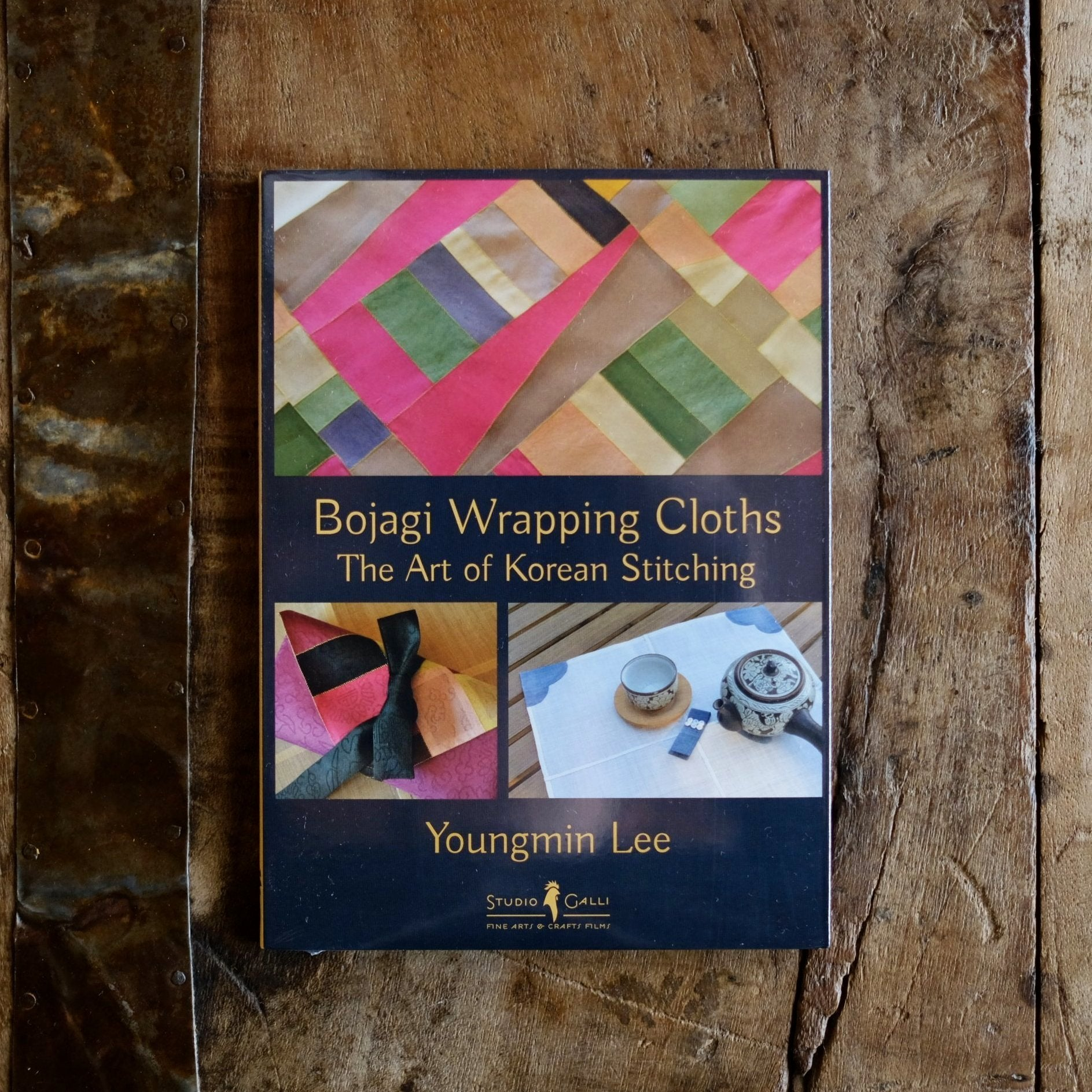Bojagi Wrapping Cloths: The Art of Korean Stitching by Youngmin Lee - SOLD OUT