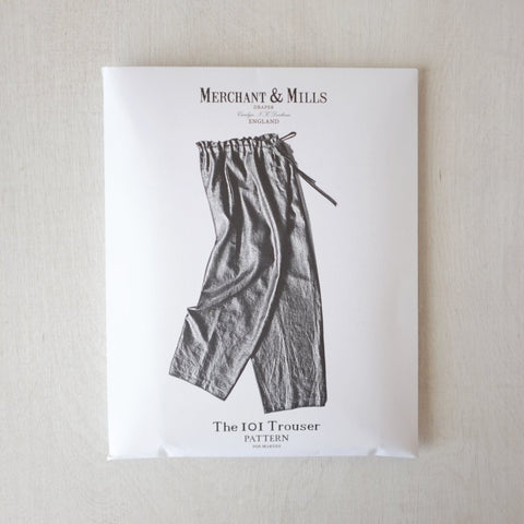 Merchant and Mills - The 101 Trouser Pattern - PRINTED - SOLD OUT