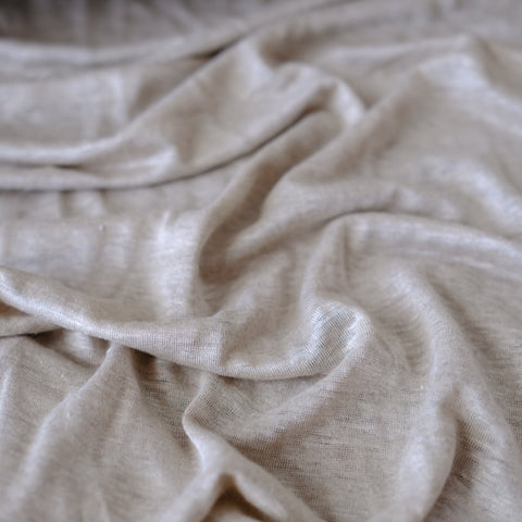 Knit Jersey - Linen - Back in stock!