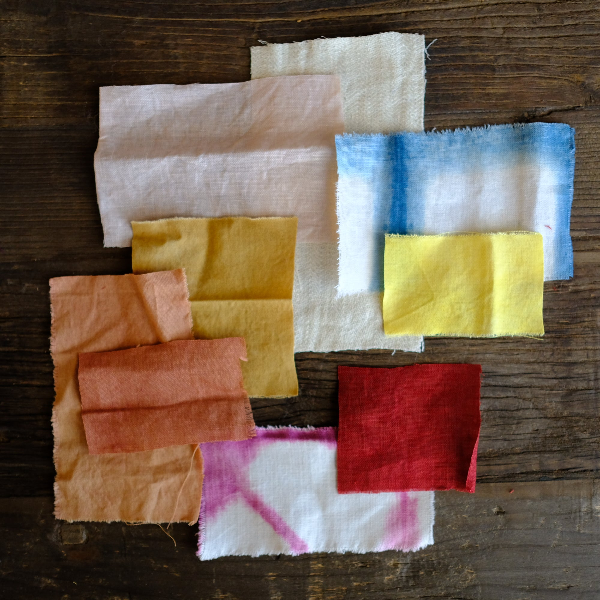 AVFKW Naturally Dyed Scrappy Fabric Bundle - NEW!