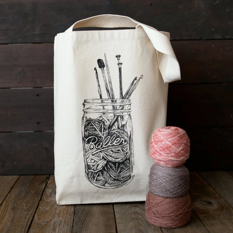 Nerd Bird Makery - Baller Tote - SOLD OUT