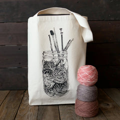 Baller Tote by Nerd Bird Makery - New!