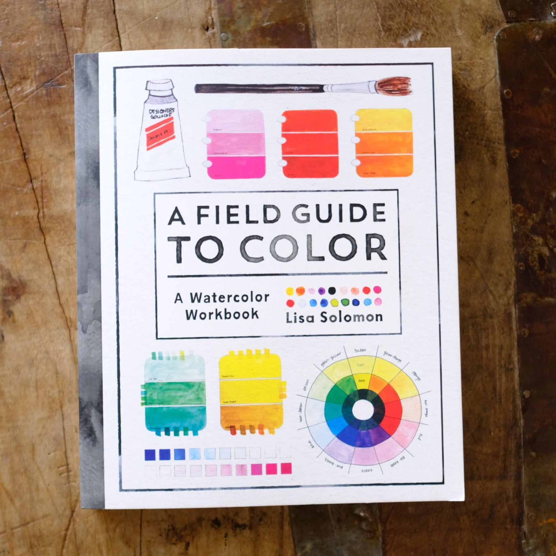 A Field Guide to Color: A Watercolor Workbook by Lisa Solomon - New!