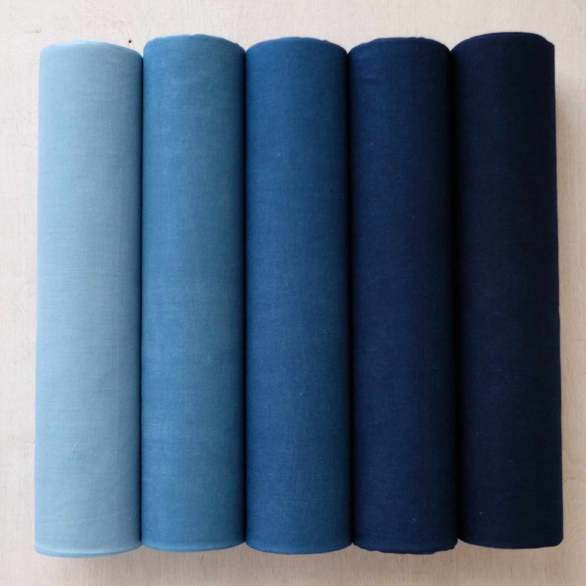 BUAISOU Indigo-dyed fabric - 100% cotton