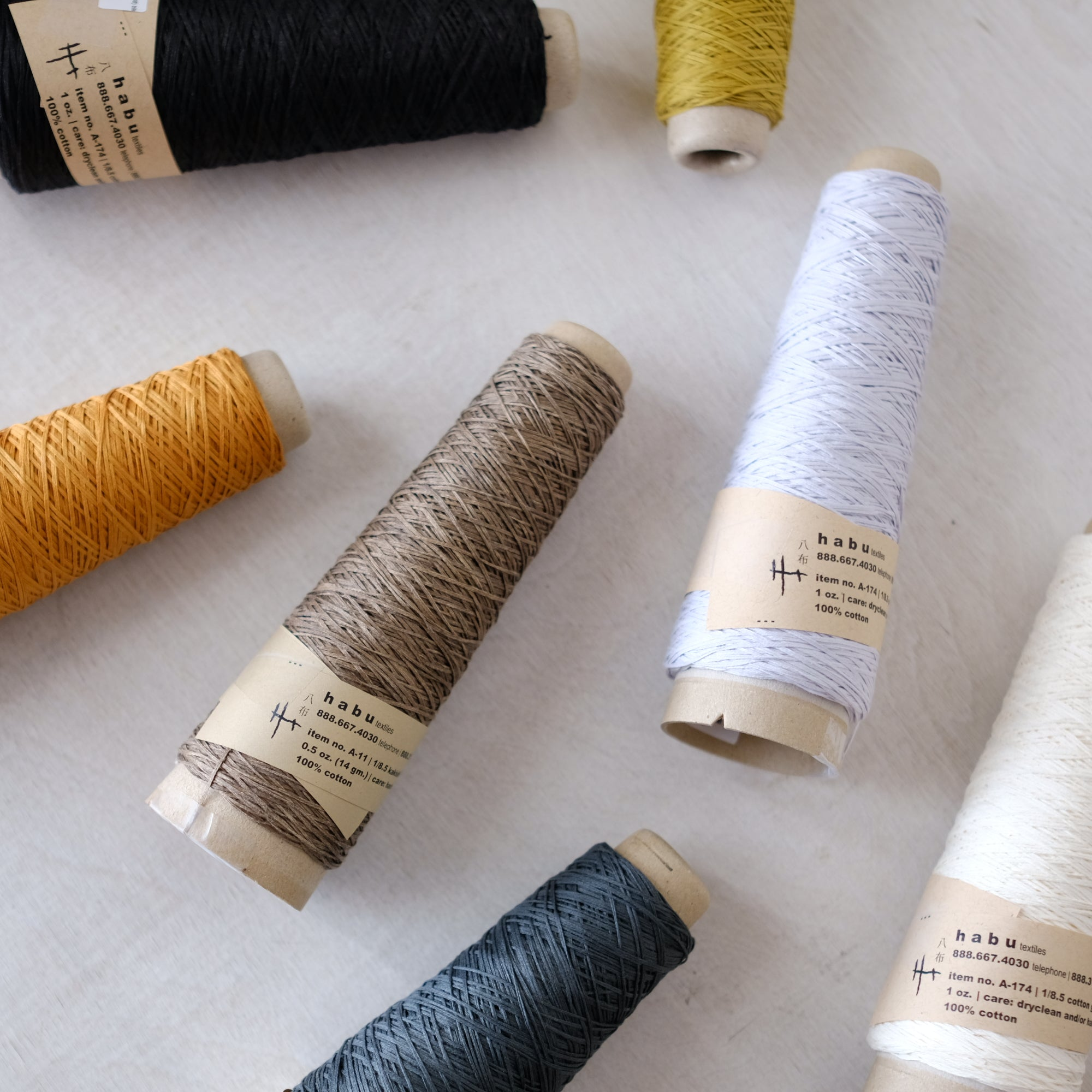 Habu Textiles - A-174 Gima Cotton - Just added!