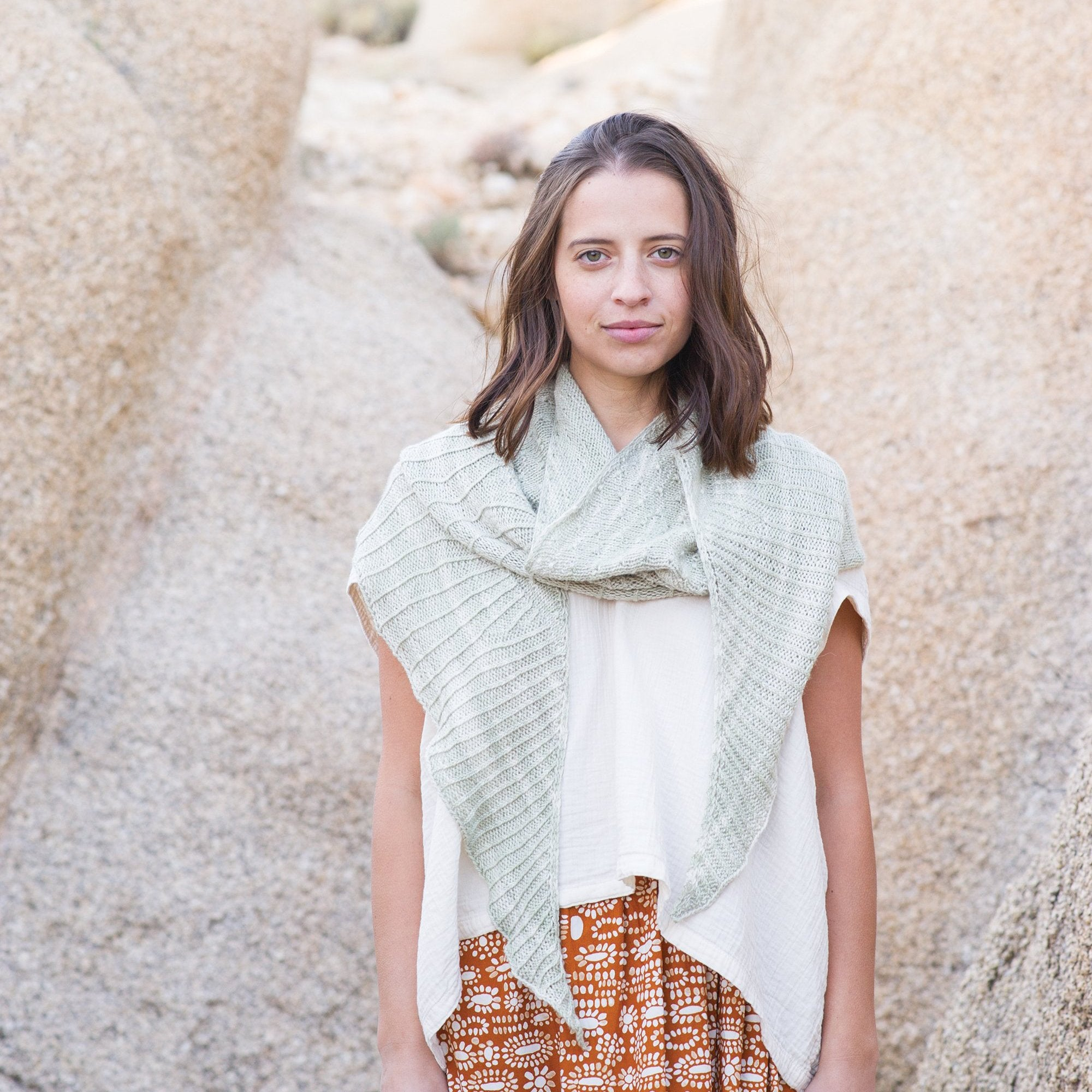 AVFKW x Amy van de Laar - Xerophyte Shawl Kit - Coming Soon