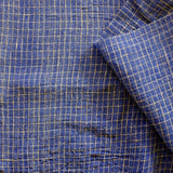label: Grid - Indigo and Natural