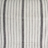 label: Thick and Thin Stripe - Black and White
