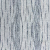 label: Varied Stripe - Indigo and White