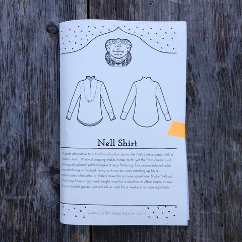 AVFKW - The Nell Shirt Pattern - PRINTED