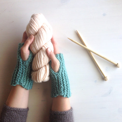 Knitting 101: Mitts