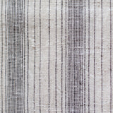 Label: Varied Stripe - Black and White