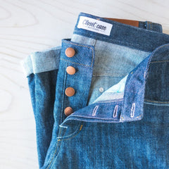 Closet Core Patterns Jeans Hardware