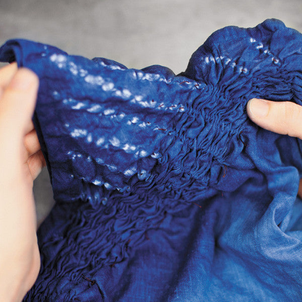 Indigo + Shibori I: Bound Resist + Stitch Resist: August 31st